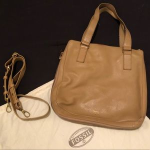 Fossil Leather Bag with Dust Bag